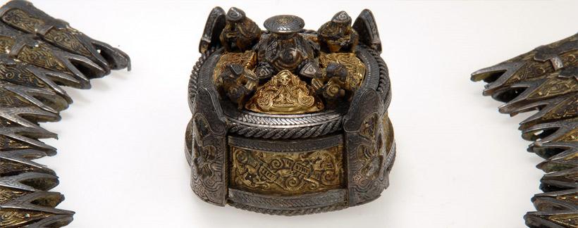 trésor viking trouvé en suède par 2 prospecteurs