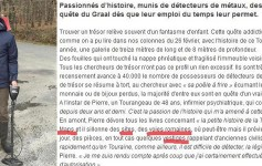 tours detection de metaux journaliste