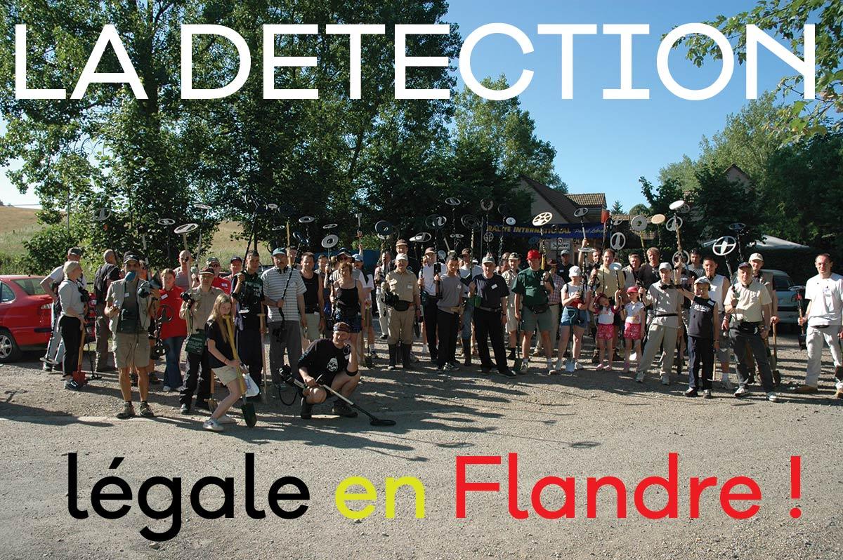 détecteur de metaux belgique flandre