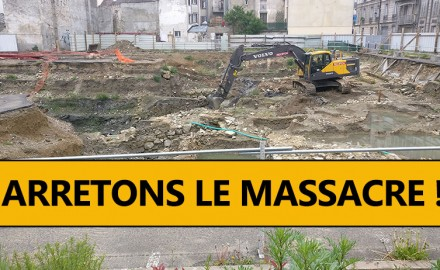 destruction site archeologique